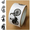 Washi Tape - Bicycles (SKU: FYRNO-LMT-20X5-1157)