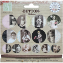 Melissa Frances - Adopted Ancestors - Chipboard Buttons (SKU: FYRNO-MF-GN615)