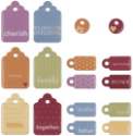 Sweets Dimensional 2-Sided Family Tags (SKU: FYRNO-MM-28664)
