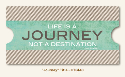 Collectable Memorable Cardstock Title - Journey (SKU: FYRNO-MME-CTB148)