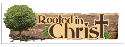 Paper House - Rooted In Christ - 3D Title Sticker (SKU: FYRNO-PH-STTL009E)