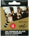 Photo Corners - Premium Black Photo Corners (SKU: FYRNO-PIO-BPC1)