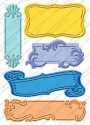 "Cuttlebug 5"" x 7"" Embossing Plus - Fanciful Labels"