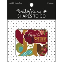 Bella! Boutique Family Shapes To Go Chipboard 32/Pkg (SKU: FYRNO-Ruby-BAS47)