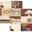 "Legacy - Elements - 4""X6"" Horizontal Journaling Cards (SKU: FYRNO-SS-LEGELE 5711)"