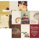 "Legacy - Elements - 4""X6"" Vertical Journaling Cards (SKU: FYRNO-SS-LEGELE 5712)"