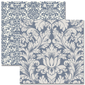Teresa Collins - Far & Away - Damask Paper (SKU: FYRNO-TC-FA12 1002)