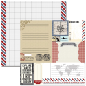 Teresa Collins - Far & Away - Ephemera Paper (SKU: FYRNO-TC-FA12 1003)