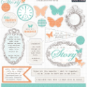 Teresa Collins - Tell Your Story Chipboard Elements (SKU: FYRNO-TC-YS1017)