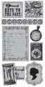 "TPC Studio - Memory Lane - Rubber Cling Stamps 4""X8"" Sheet (SKU: FYRNO-TPC-MLDP-2011661)"