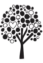 Unity Stamp - Family Tree -  Itty Bitty Bella Blvd Unmounted Rubber Stamp (SKU: FYRNO-UNITY-IBBB83)