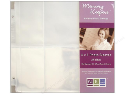 "Photo Sleeves - 4' x 6""  - for  8"" X 8"" Albums (SKU: FYRNO-WeR-50043-8)"