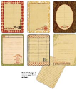 7 Gypsies - Gypsy Journal Pages (SKU: FYRPP-7G-17845)