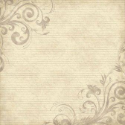 "Scrapbook Customs - Family History Lines & Swirls - 12"" x 12"" (SKU: FYRSCI-34905)"