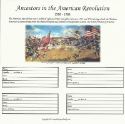 "Our Roots - 8"" x 8"" - Revolutionary War Ancestors 1 (SKU: SYFT-OR-8X8-AR1)"