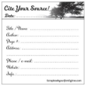 Cite Your Source! Sticky Notes (SKU: FYR-SYT-01)