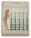 Melissa Frances - Attic Treasures - Green Rhinestones Embellishments (SKU: FYRMF-MF-GN280)