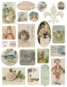 Melissa Frances - Attic Treasures - Ephemera Stickers (SKU: FYRMF-MF-GN317)