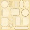 Melissa Frances - Attic Treasures - Label Die Cuts (SKU: FYRMF-MF-GN274)