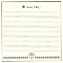 Bazzill Heritage Printed Paper - Family Story (SKU: FYRNO-BBP-H303338)
