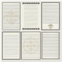 Bazzill Heritage Printed Paper - Heritage Note Cards - Vertical (SKU: FYRNO-BBP-HNC303343)