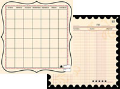 "Journal-It Collection  - Ledger Time - 12""x12"""