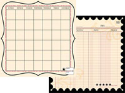 "Journal-It Collection  - Ledger Time - 12""x12"" (SKU: FYRPP-TC-2151)"