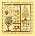 Acorn Sampler - Cross Stitch Pattern