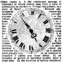 Magenta Stamps - Crafty Individuals - Clock & Definitions