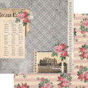 7 Gypsies - Trousseau Double-Sided Paper - Charming (SKU: FYRNO-7G-T12-19434)