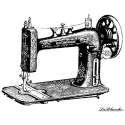 Lablanche Silicone Stamp - Sewing Machine