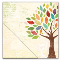 Little Yellow Bicycle - Hello Fall - Autumn Tree (SKU: FYRNO-LYB-HF12-101)