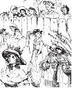 Prima Marketing - Clear Stamps - Romantique - Ladies Background