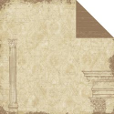 Ancestral Collection - Ancestral Columns 12 x 12 Double-Sided Varnish Paper (SKU: FYRNO-TPC-ANVP485)