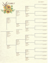 "Family - 8.5"" X 11"" - Pedigree Chart 2 (SKU: SYFT-FAM-8X11-PC2)"