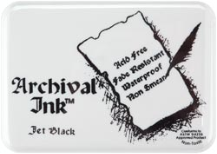 Archival Stamp Pad #0 - Jet Black