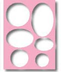 Templates - Ovals & Circle Frame