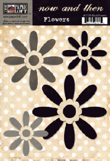 Now & Then Collection - Brown Flowers