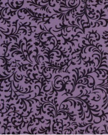 "Lavender with Brocade 8.5"" x 11"""