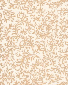 "White and Gold Brocade 8.5"" x 11"""