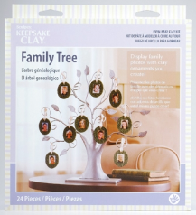 Sculpey Keepsake Clay Family Tree