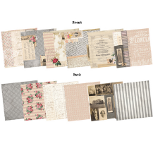 "7 Gypsies - Trousseau Double-Sided Paper Pack - 8""X8"" - 48 Sheets"
