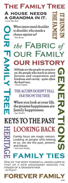 Momenta - Vellum Message Stickers - Family Tree