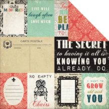 Moments & Memories - Journaling Cards