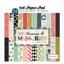 "Moments & Memories - Paper Pad - 6""x 6"""