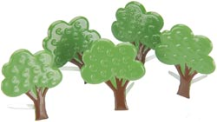 Eyelet Outlet Brads - Trees