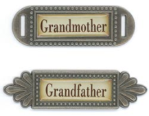 Fabscraps - Grandmother and Grandfather