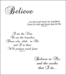 Heartfelt Creations - Believe