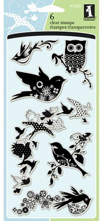 Birds Galore Clear Stamps