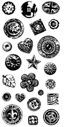 Buttons Clear Stamps